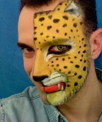 Facepainting makeup for Lattice prevulcanizzato