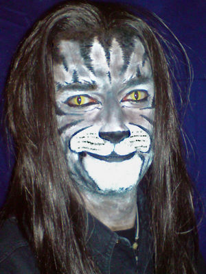 Foto Facepainting Cat MakeUp Tutorial